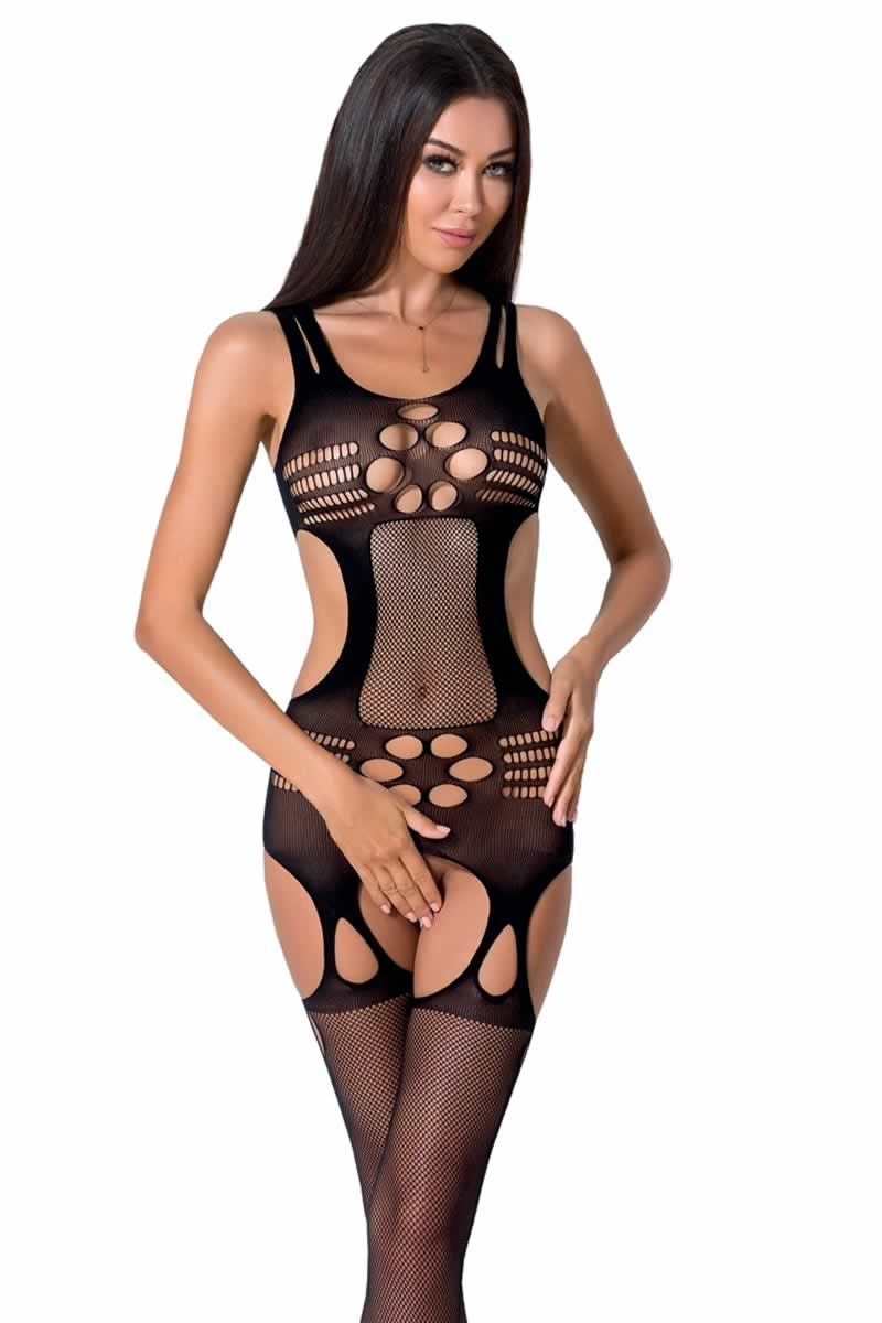 Bodystocking ouvert BS066.