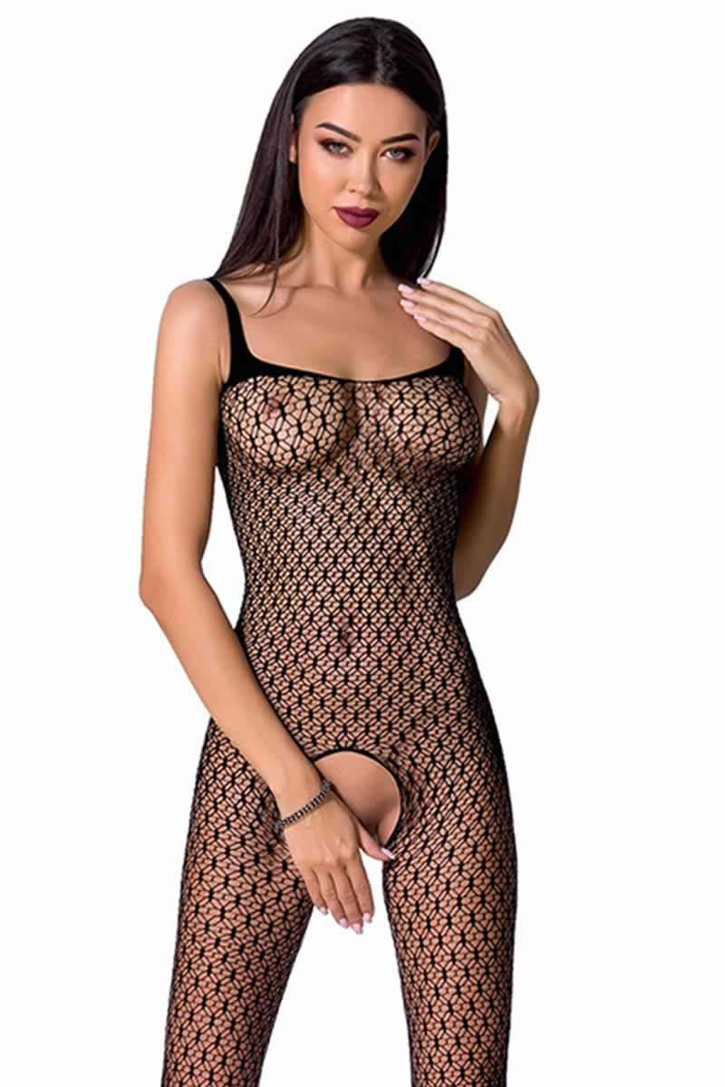 Bodystocking ouvert BS071-black