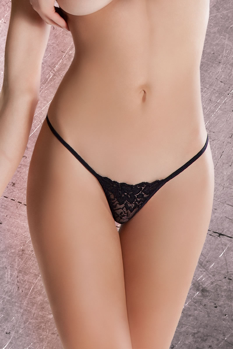 Mystique thong black