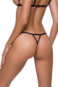 Solon thong Crotchless Panties.